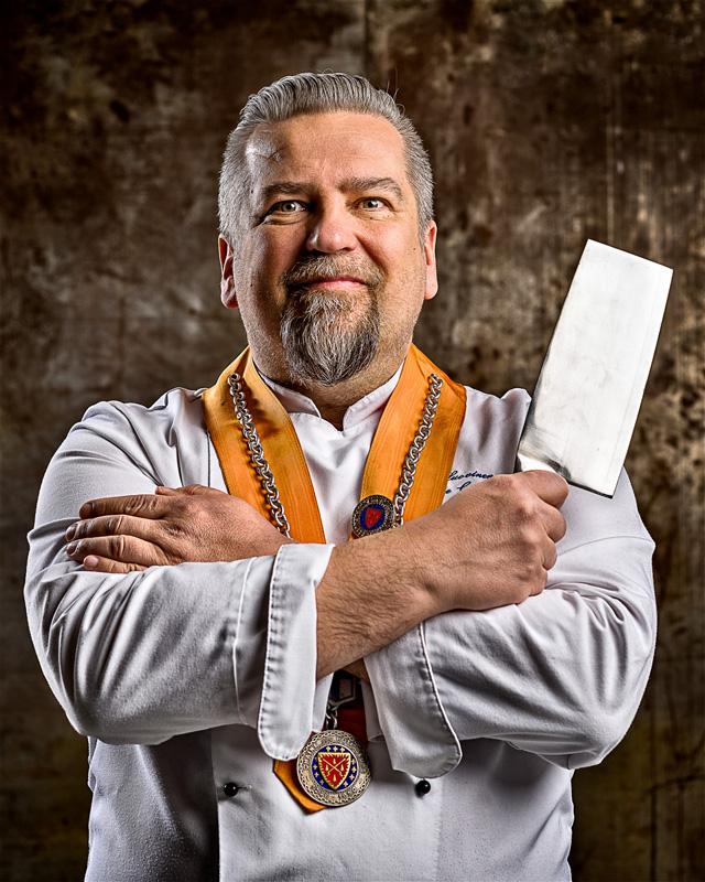 Mika Huovinen chef rotisseur veitsi